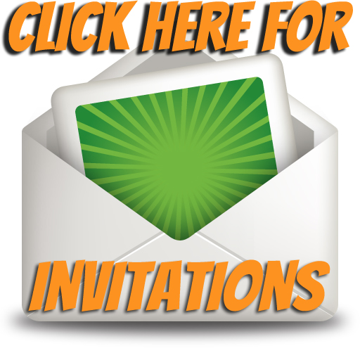 Invitations for Trampoline Party