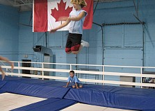 COMPETITIVE TRAMPOLINE TEAM