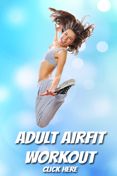 Adult Airfit Trampoline Fitness