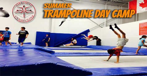 Summer Trampoline Day Camp