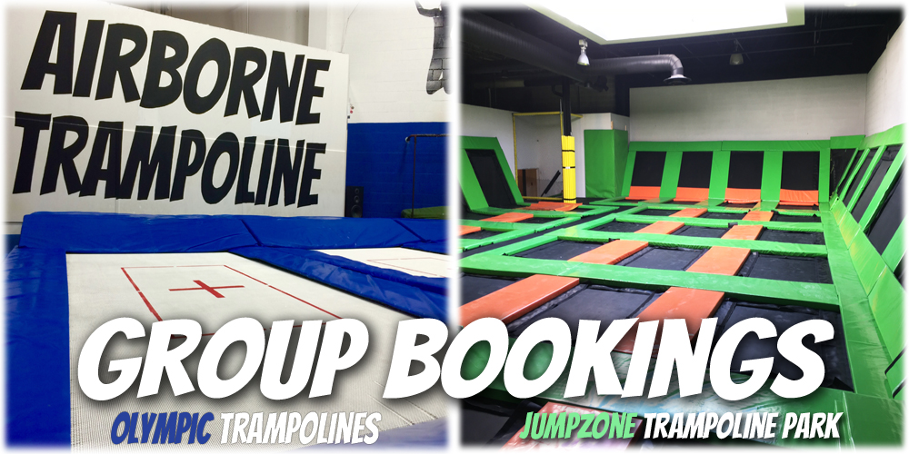Group Trampoline Bookings