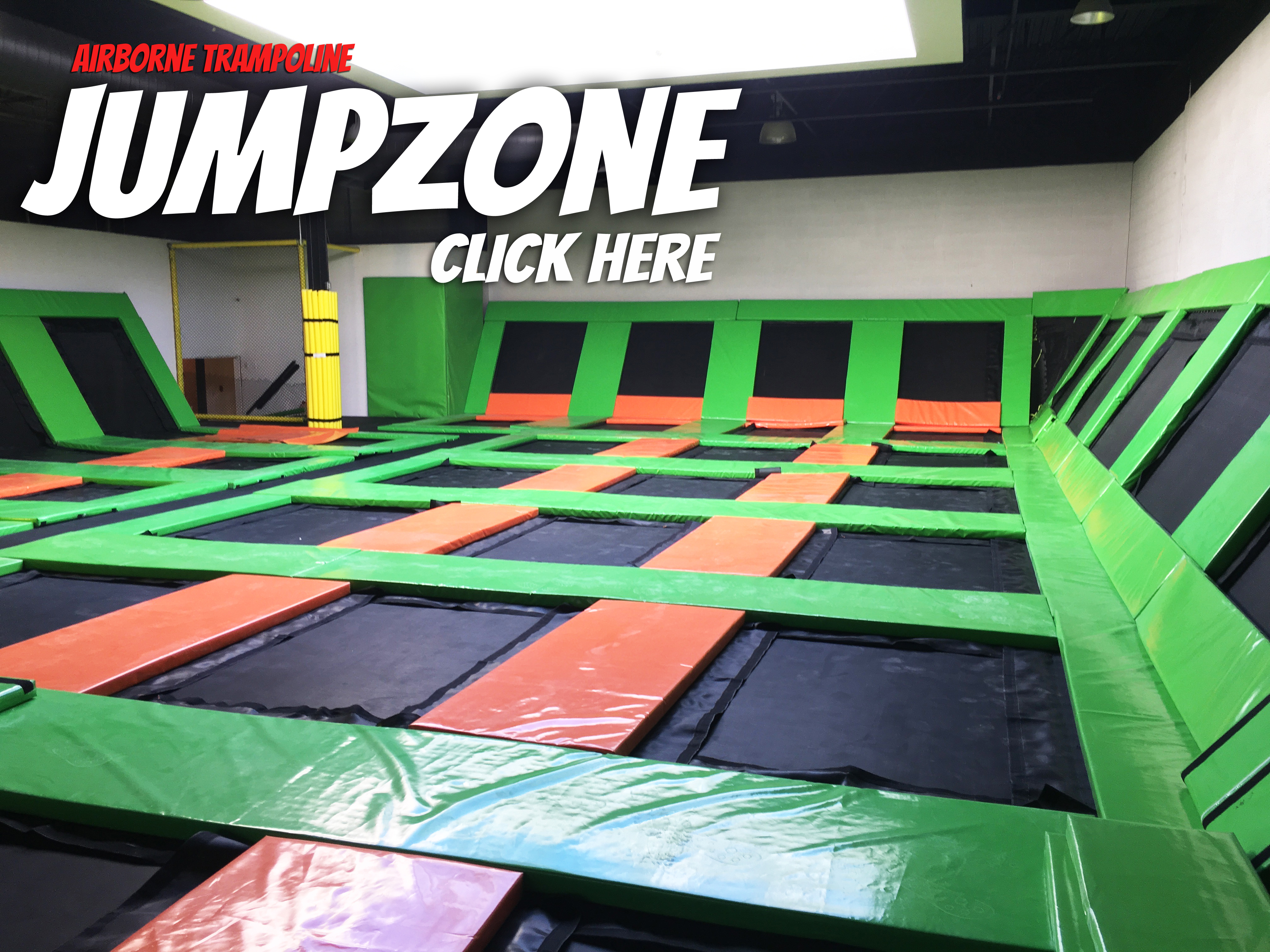 JumpZone Group Trampoline Booking