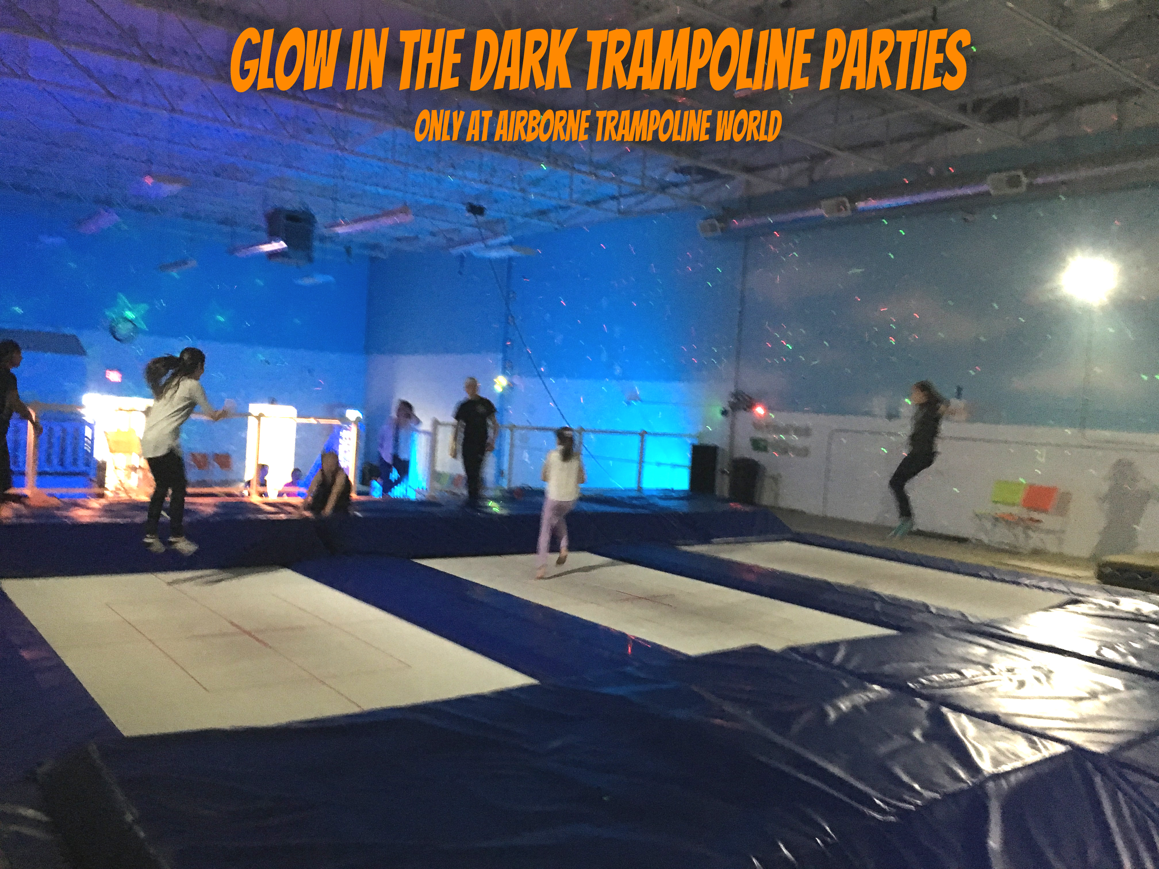 Airborne Cosmic Olympic Trampoline Party