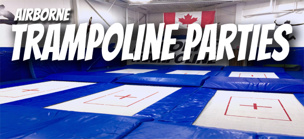 Basic Trampoline Party Package