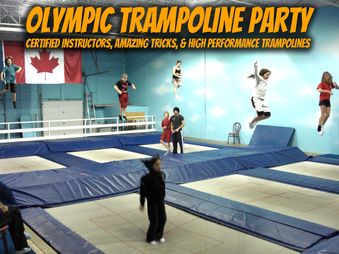 Airborne Olympic Trampoline Party