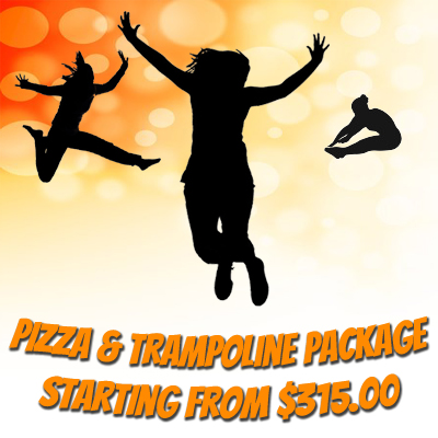 Pizza Trampoline Party Package