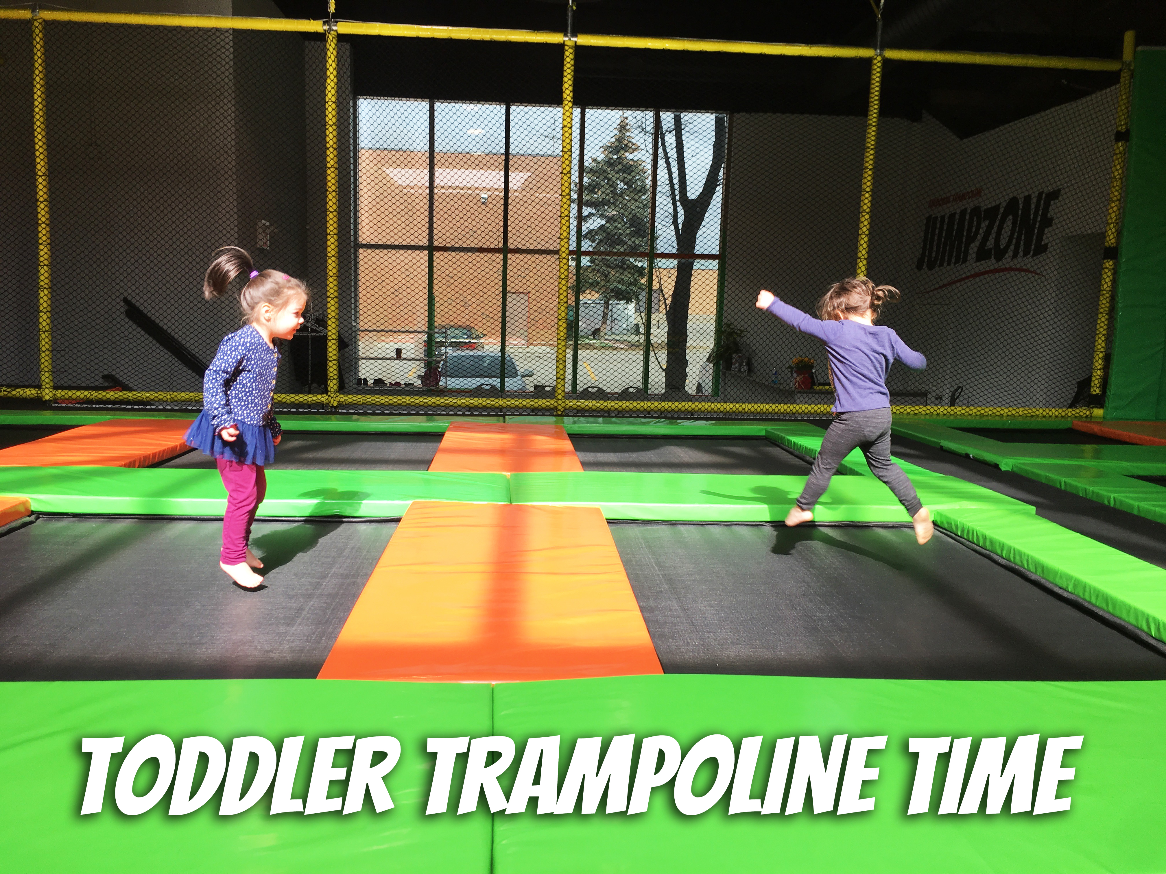 Toddler Trampoline Time