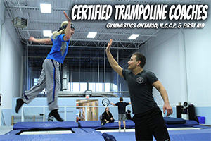Certified Trampoline Coaches