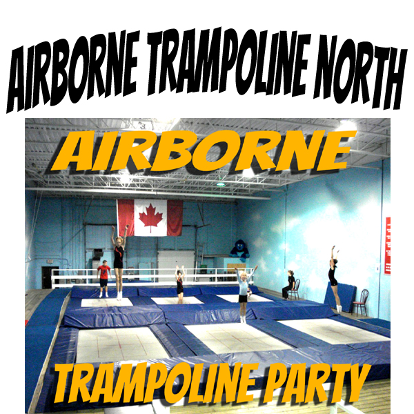 Trampoline Party at Airborne Trampoline North