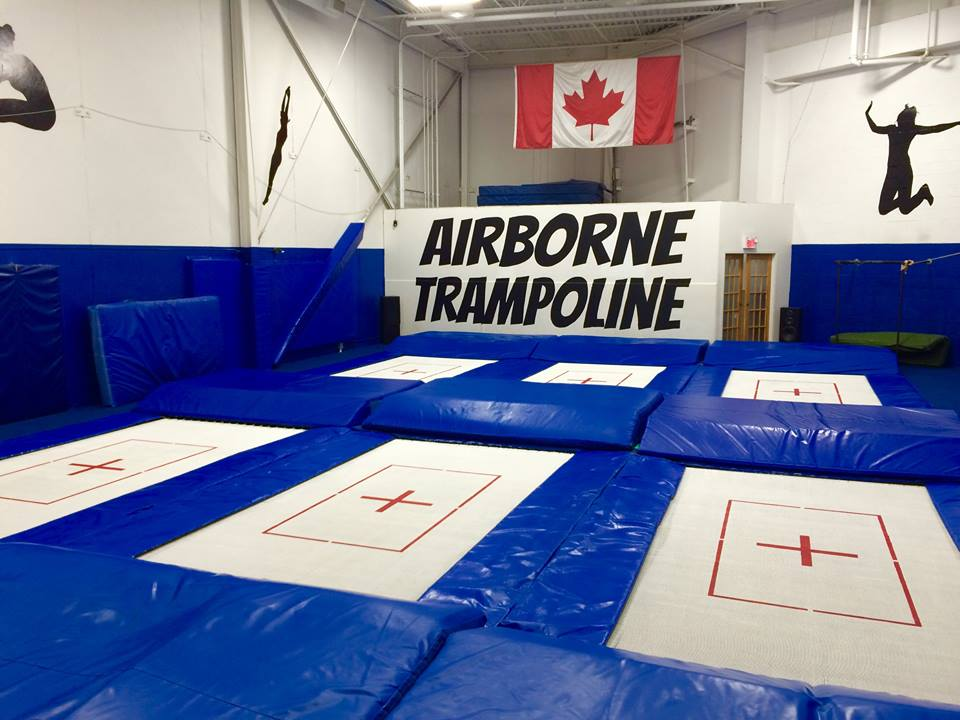 Vaughan Summer Camps Trampolines