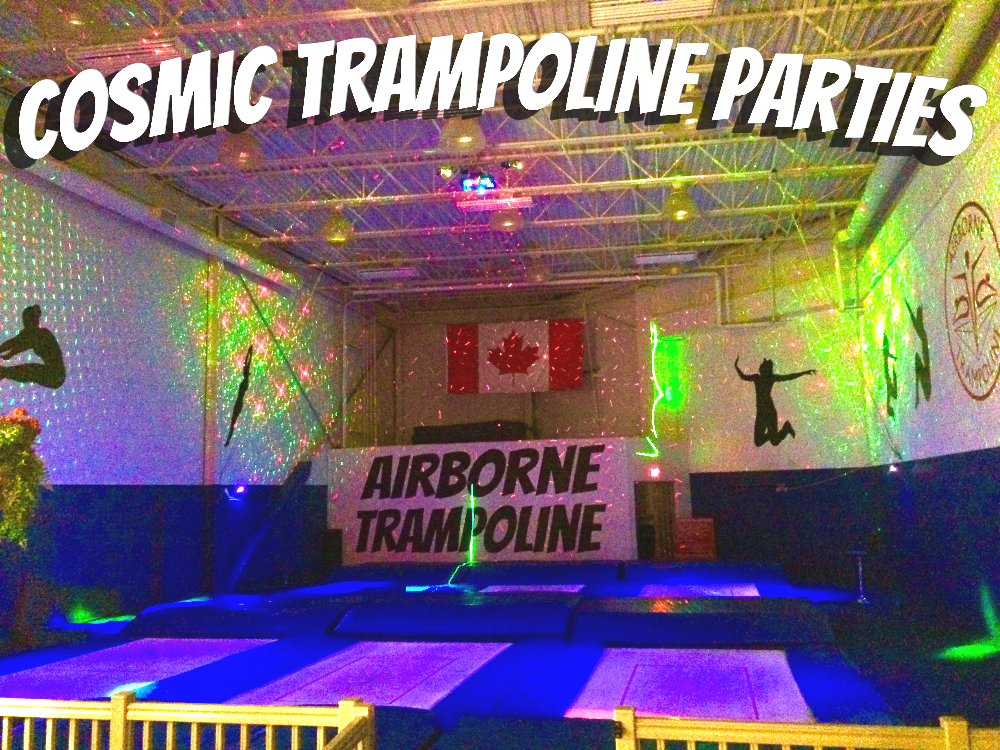Vaughan Kids Parties Cosmic Trampoline