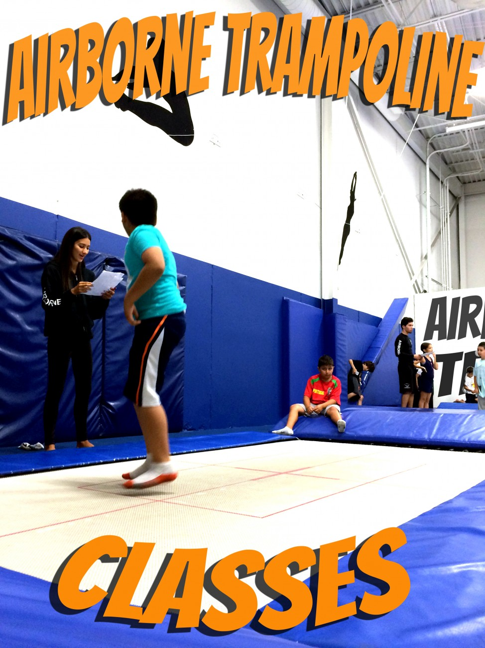 Airborne Woodbridge Trampoline Classes