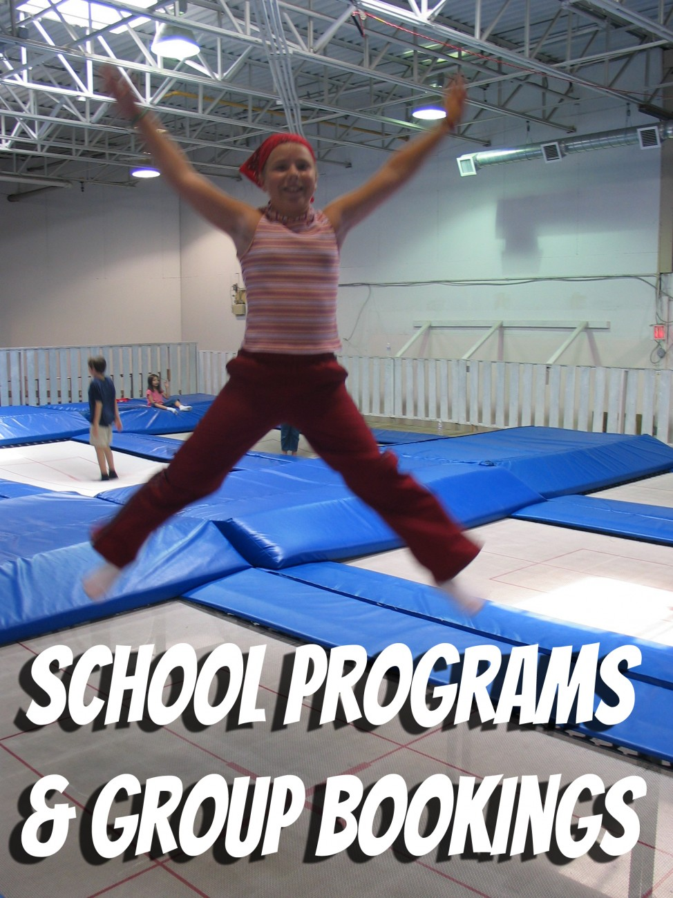 School Programs at Airborne Trampoline